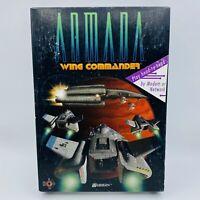 Armada WING COMMANDER Big Box PC MS-DOS Game 1994 Origin CD-ROM NEW OPEN BOX
