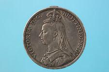 *161* GRAN BRETAGNA - Regina Vittoria (1837 - 1901) - CORONA 1889 BB+ KM#675