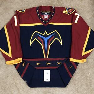 Koho Authentic Ilya Kovalchuk Atlanta Thrashers NHL Hockey Jersey Blue Away 48