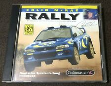 Colin McRae Rally | PC | Win 95/98 | Vintage (1998) | Zustand sehr gut