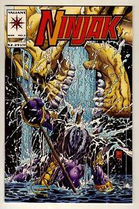 Ninjak #2 - March 1994 Valiant - Colin King as Ninjak - Near Mint (9.4)
