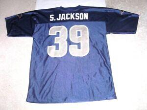 St Louis Rams STEVEN JACKSON Football Jersey men's Large