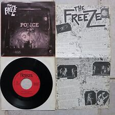 "Freeze ‎– Bloodlights / Talking Bombs 7"" Single Taang! Records ‎– TAANG! 61"