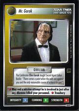 STAR TREK CCG HOLODECK RARE CARD MR. GARAK