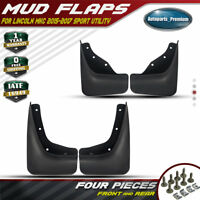 4PCS Front and Rear Splash Guard Mud Flaps Fenders for Lincoln MKC 2015-2017 New