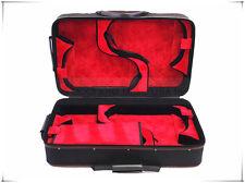 Pro. Wooden 4 pieces Violin case fit 4x 4/4(BL-355mm)