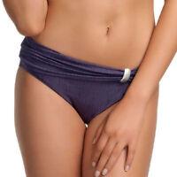 New Fantasie St Kitts Fold Bikini Brief Pant Loganberry Purple 5794 VARIOUS