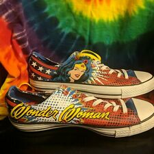 """CONVERSE WONDER WOMAN """" MINISTRY OF SHOES"""" APPROVED NEW! STUNNING! 😲 WOW !"""