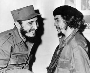 POSTER FIDEL CASTRO ERNESTO CHE GUEVARA CUBA LEADER MAXIMO AVANA FOTO STAMPA #4