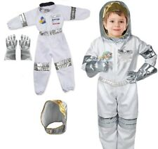 Astronaut Costume Cosplay Kid Suit Boys Stage Show Rocket Man 3-7 years old