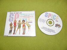Spice Girls - Spice Up Your Life - 4xTracks - RARE 1997 Israel Israeli Promo CD