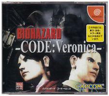 USED Capcom BIOHAZARD CODE VERONICA SEGA DREAMCAST  JAPAN JP JAPANESE
