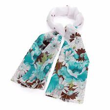 Vert/Marron Tone Floral Mode Imprimé Foulard Head Wrap Accessoires