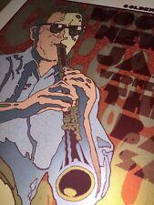 CHUCK SPERRY Woody Allen & NO Jazzband 12.28.11 Regency S.F. Screenprint Poster