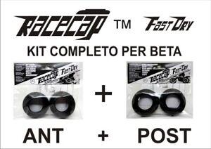 Racecap FastDry FULL KIT NERO PER BETA (ANT + POST - SOLO CUFFIE ESTERNE)