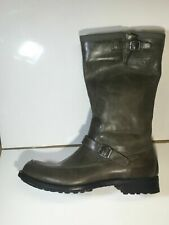 G-star Raw Men Boot Grey Leather 100% Gs11380/066