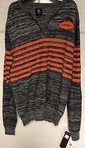 NFL Chicago Bears Vintage Logo Quarter Button Sweater/ Sweatshirt SIZE M, NWT!!