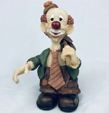 Vintage 1997 Slapstix by Cast Art Happy Camper Clown Figurine