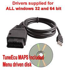 Triumph Motorbike Diagnostic Cable + Tune ECU CD, lead, Motorbike, Bike, Tuning