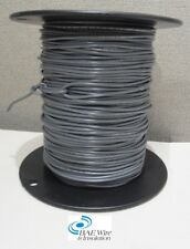 18 AWG UL1015 MACHINE TOOL WIRE - GREY - 500 FEET