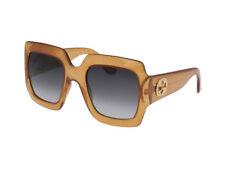 Occhiali da Sole Gucci oro grigio sfumato  originali GG0053S cod. 006