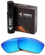 Polarized IKON Iridium Replacement Lenses For Oakley Jury Ice Blue Mirror