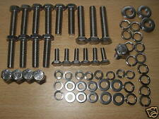 ROVER V8 INLET MANIFOLD HEX HEAD STAINLESS BOLTS LAND ROVER RANGE ROVER P6 SD1