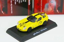 Kyosho 1/64 Alfa Romeo TZ3 Corsa Yellow Minicar Collection 3 2013 Limited