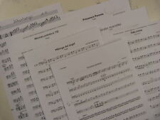 double bass PIAZZOLLA tango , bass parts