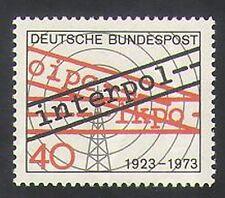 Germany 1973 Interpol/Police/Law Order/Radio Mast/Radio Waves 1v (n35412)