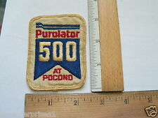 Purolator 500 At Pocono Patch , Vintage Racing Patch  (#1008)