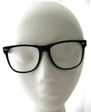 BLACK EYEGLASS FRAMES H119P ROCK & ROLL 1950's Look
