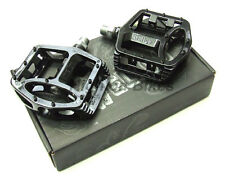 Wellgo MG1 - Magnesium / Alloy Flat - Mountain Bike Pedals - Black