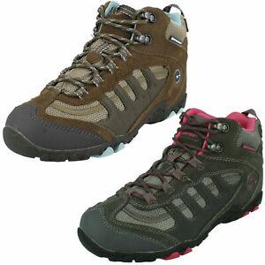 Ladies HiTec Waterproof Walking Boots - Penrith Mid WP Womens