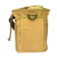 Outdoor Rock Climbing  Powder Chalk Bag & Adjustable Belt - Tan