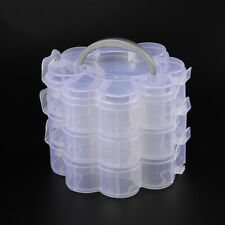 1 Set Plastic Bead Containers Storage Box Case Container Jewelry Organizer
