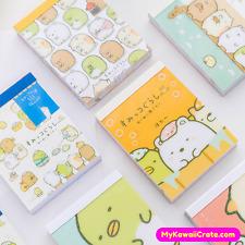 Adorable Sumikko Gurashi Mini Notebook ~ Kawaii Notepad Diary Planner Stationery