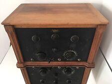Ducretet Thomson 1927 Radiomodulateur Supermodula Poste Radio Tsf Ancien