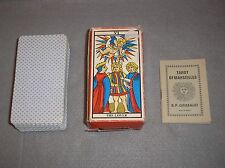 RARE 1970 The Lover Tarot of Marseilles Deck Grimaud France Excellent & Complete