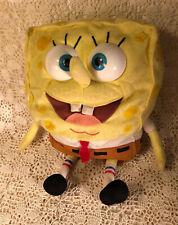 "2000 Mattel Nickelodeon Talking Spongebob Squarepants 12"" Stuffed Plush"