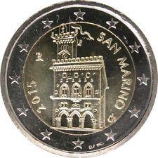 Pièces euro saint marin pour 2 euro année 2015