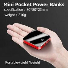 10000mAh  Mini Power Bank Charger For iPhone &Android dual Ports Fast 2.1a USB-C