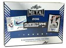 2016 LEAF METAL PERFECT GAME BASEBALL ALL-AMERICAN CLASSIC HOBBY BOX