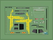 H0/1:87 DIS0314 Decals• für Volvo FH4 /Performence Edition/gelb