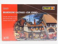 LOT 16526 | Faller HO 130429 Brandruine Gasthaus ZUR SONNE Bausatz NEU in OVP
