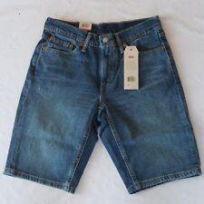 Levis 541 Men's Shorts Blue Size 29 Denim New