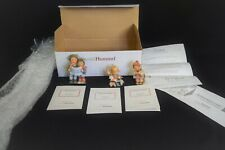 Berta Hummel StudioHummel Ornaments Set #1 (96031) Mint w/Box +Coa Ashton-Drake