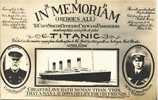 More details for white star line titanic in memoriam by e.a.bragg. captain smith & john phillips.