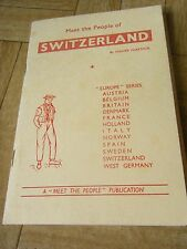 Meet the People of Switzerland, publication