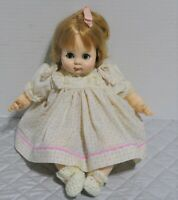 Madame Alexander Vintage 1975 15' Puddin Tagged Dress New Crier